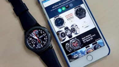 Samsung Gear S3 ios
