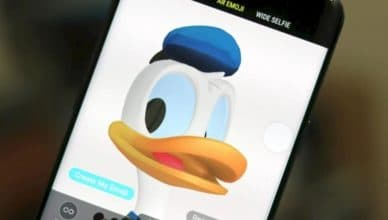 Donald Duck AR Emoji Head 1
