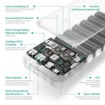 RAVPower Turbo+ 20100 mAh (Type-C + QuickCharge3.0) - 6