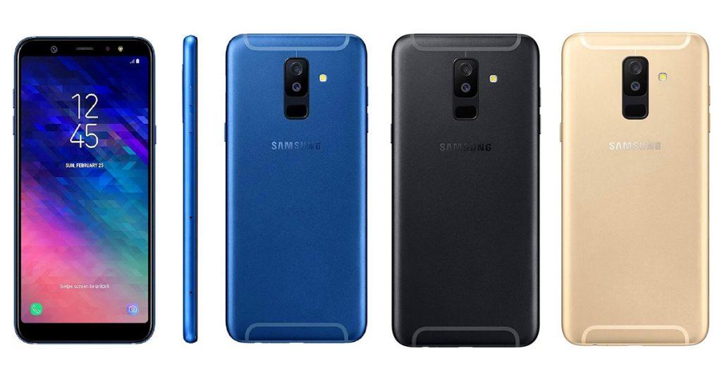 Samsung Galaxy A6+ A6 Plus Render 1
