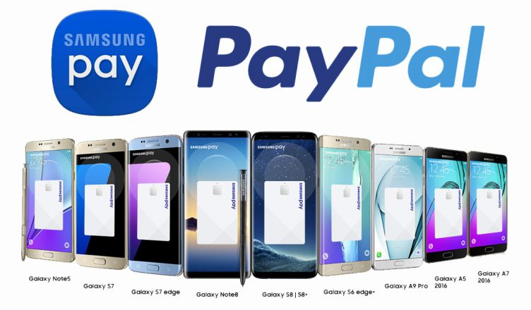 Samsung Pay X PayPal
