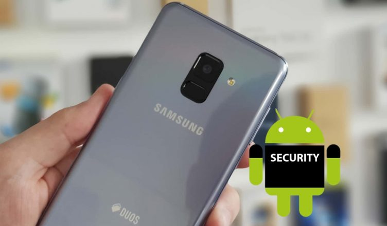Galaxy A8 with Security Android