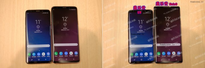 S9 with Galaxy Note 9 Fake