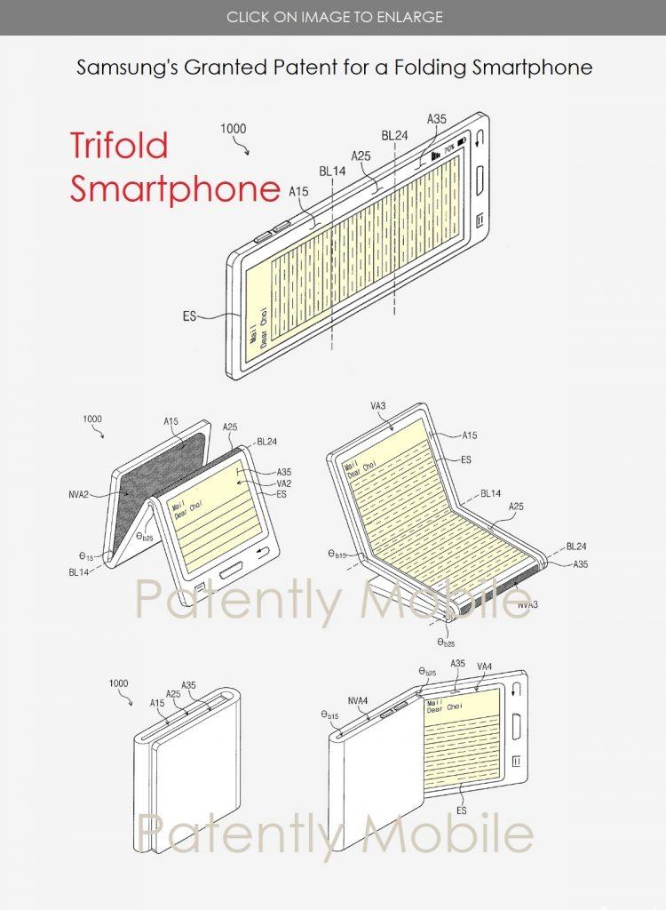 Samsung trifold smartphone - 2