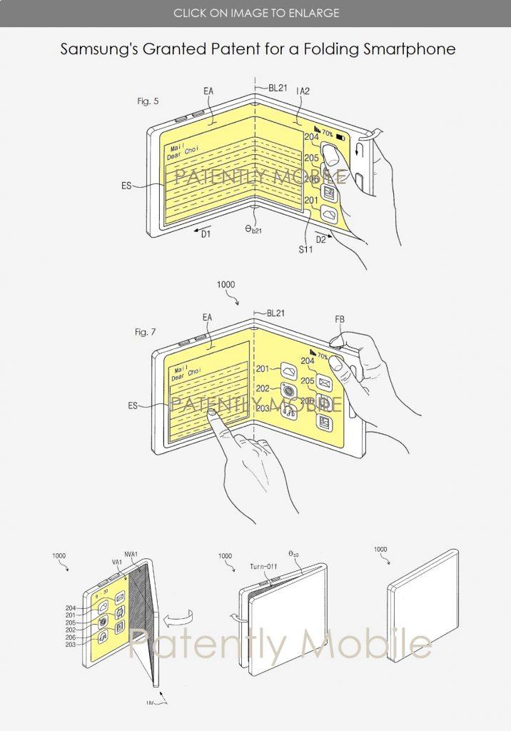 Samsung trifold smartphone - 3