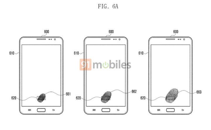 Samsung Display Fingerprint - 1 Galaxy Note 9