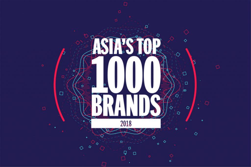 Asia's Top 1000 Brands 2018