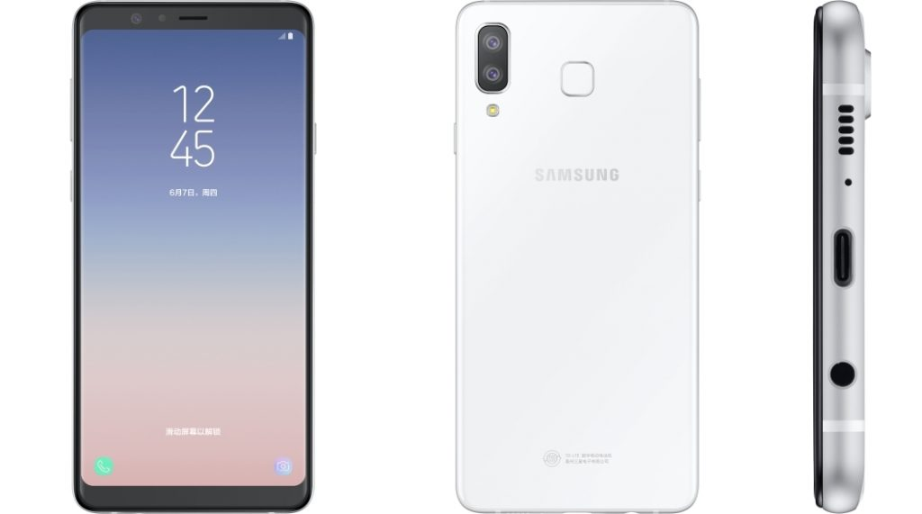 Samsung Galaxy A8 Star - White