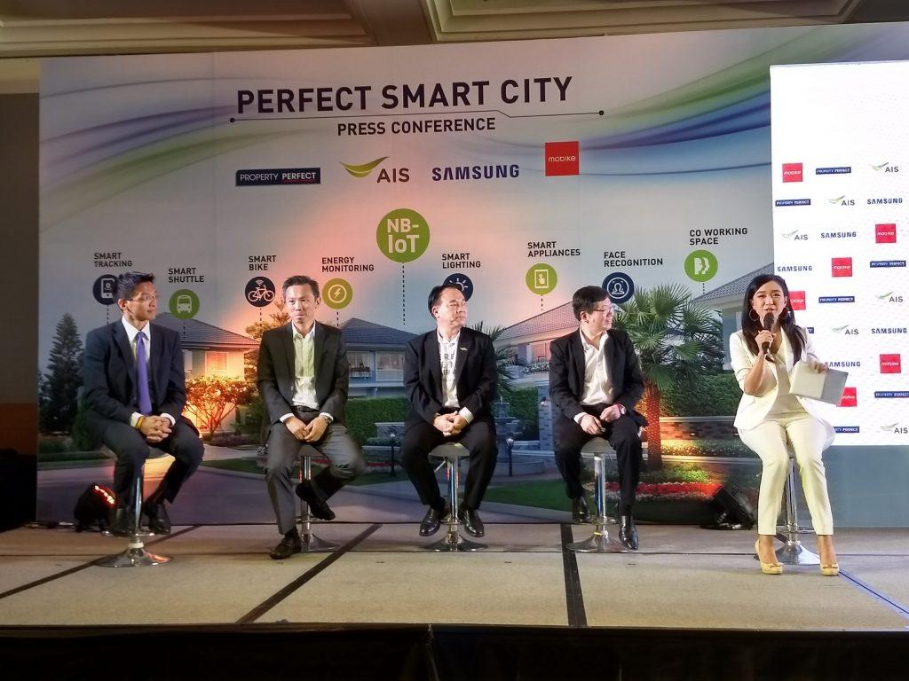 perfect smart city