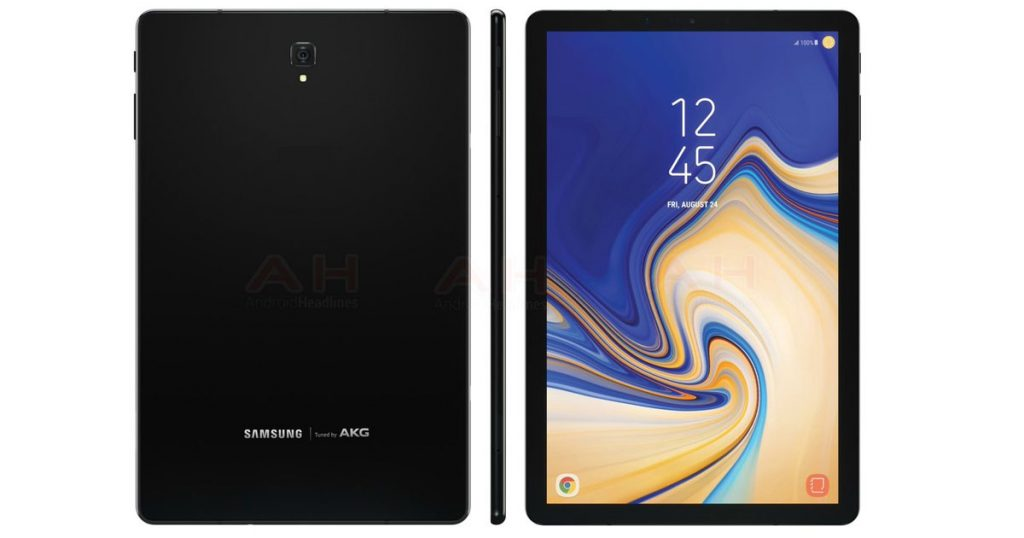 Samsung Galaxy Tab S4 photo leak