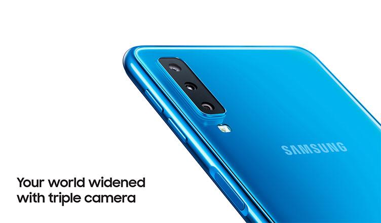 Samsung Galaxy S10 Triple Camera Detail