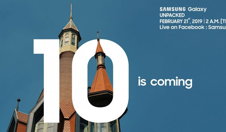 Samsung 10 is coming Campaign