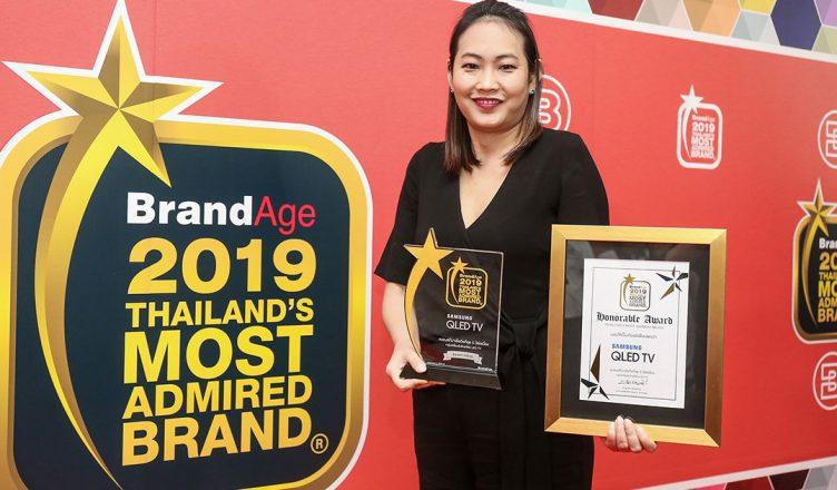 """ซัมซุง คว้า 3 รางวัลจาก """"Thailand's Most Admired Brand & Why We Buy 2019"""""""