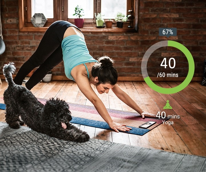 Samsung Stay Active Work out at Home