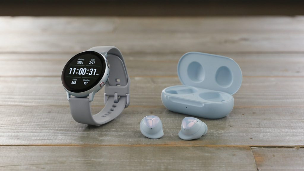 galaxy buds plus watch active 2