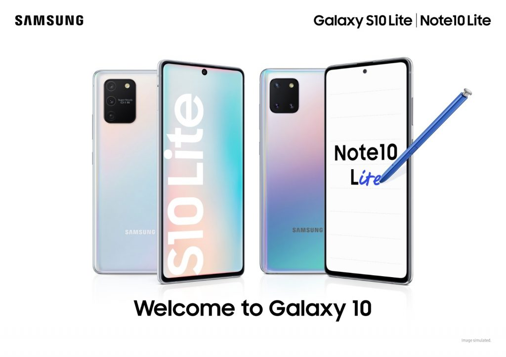 Galaxy S10 Lite and Note10 Lite